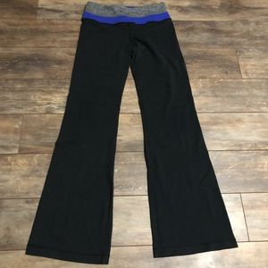 Lululemon Astro Pant Black Blue Persian